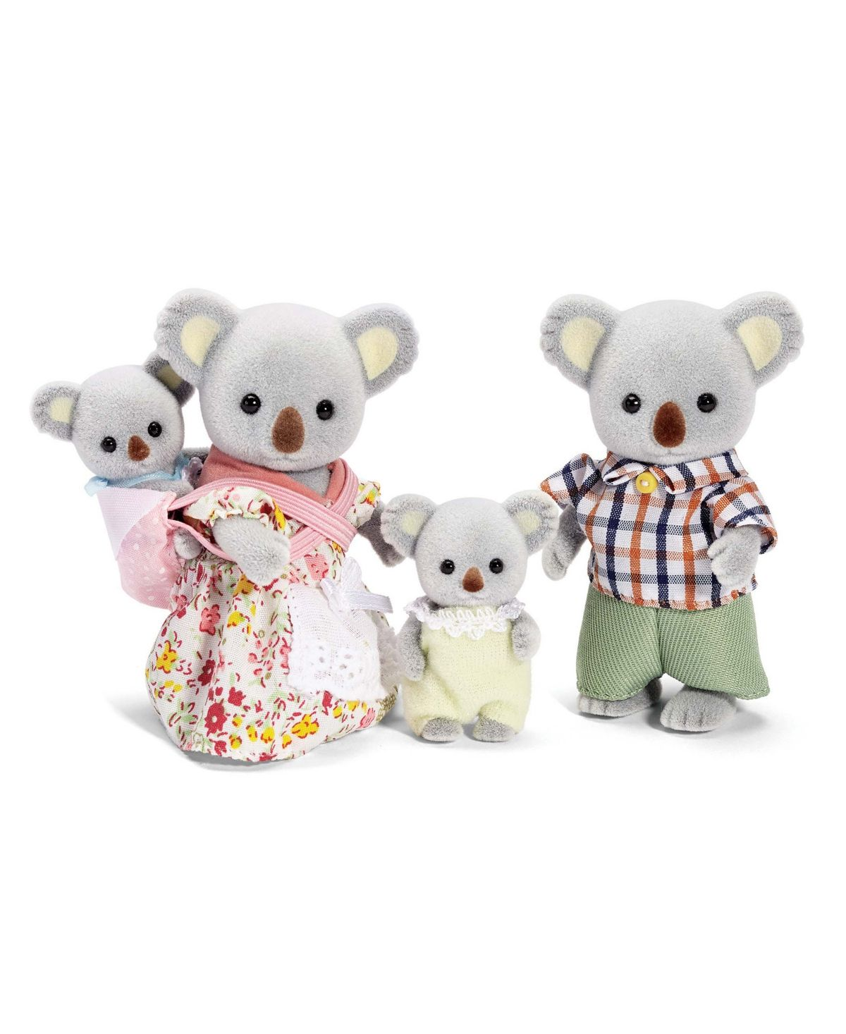 Epoch Calico Critters Families doll Persian cat family FS-28