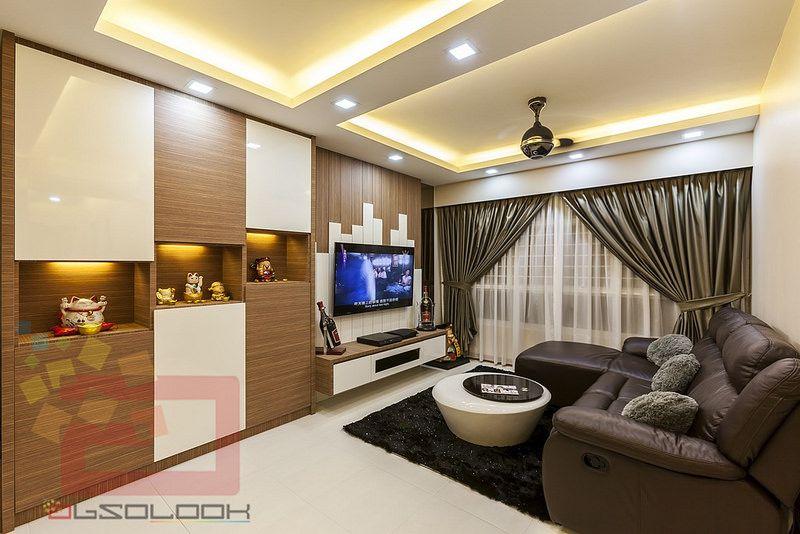 Hdb 4 Room Bto Yishun Greenwalk Interior Design Singapore