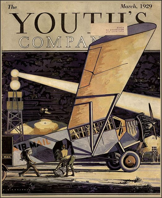 1929 mail goes by Air! by xray delta one, via Flickr