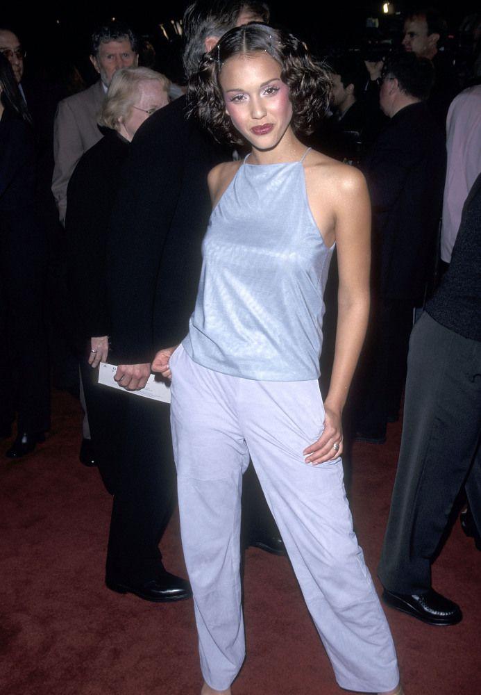 Jessica Alba 1999 Fashion 90s Fashion 90s Fashion Trending