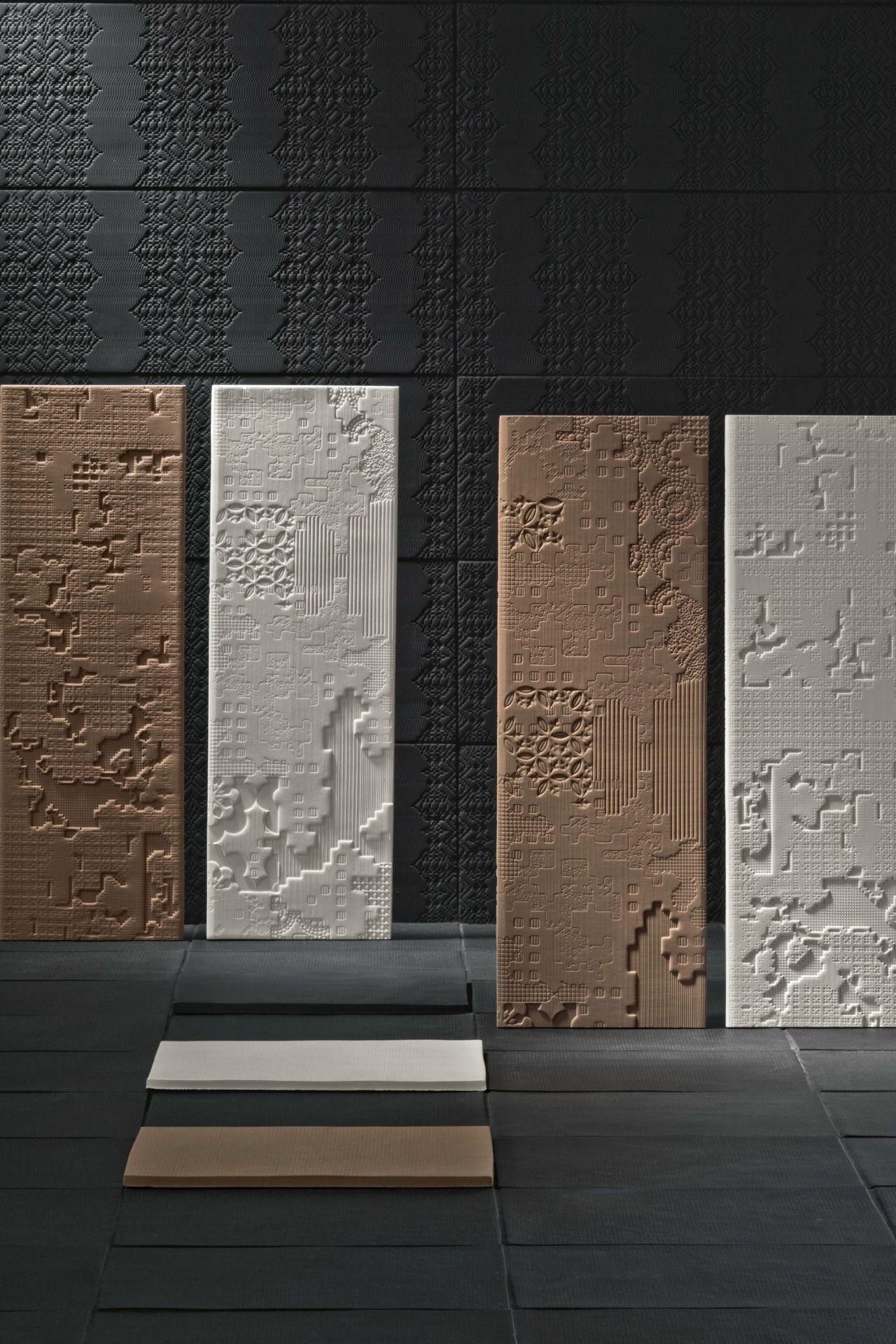 bas relief collection by mutina design patricia urquiola. Black Bedroom Furniture Sets. Home Design Ideas