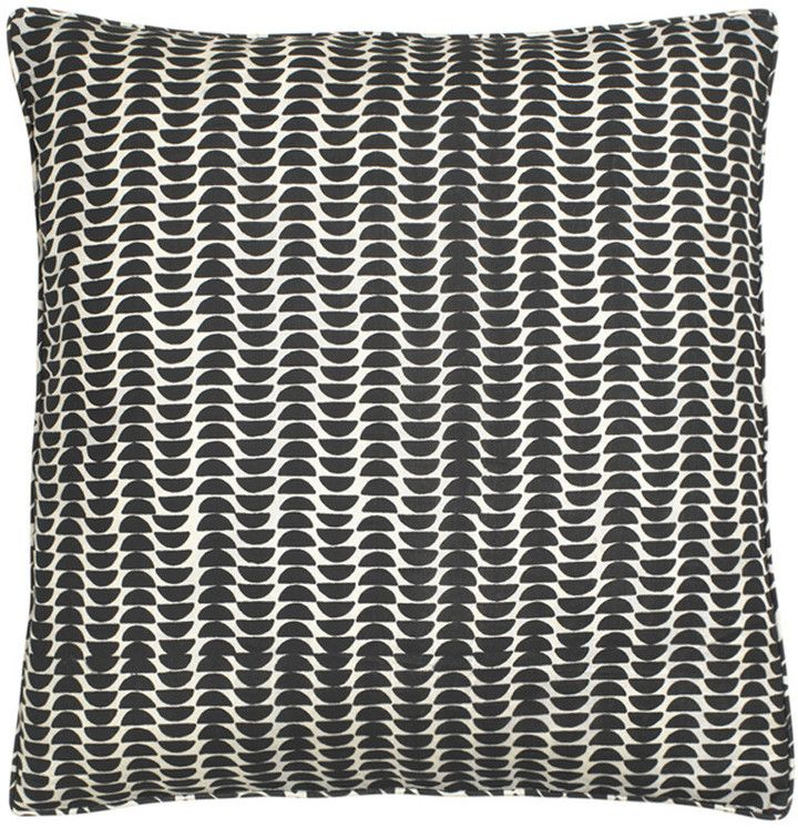 DAY Birger et Mikkelsen Half Moon Cushion Cover - Black - 50 x 50cm on shopstyle.co.uk. Great against almost any colour sofa, chair or bedding.