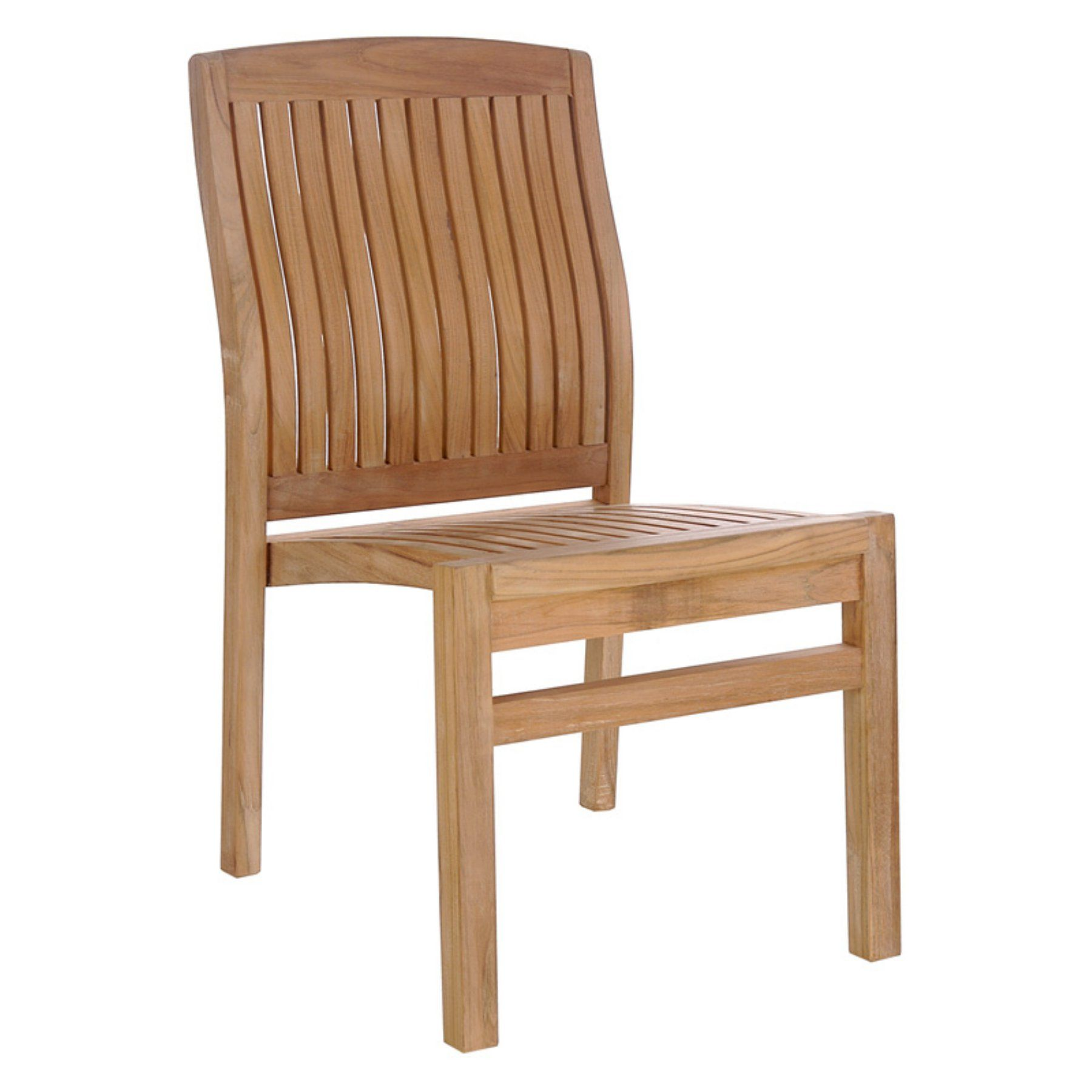 teak outdoor dining chairs. Outdoor Chic Teak Belize Patio Dining Side Chair - HJ002DC Chairs G