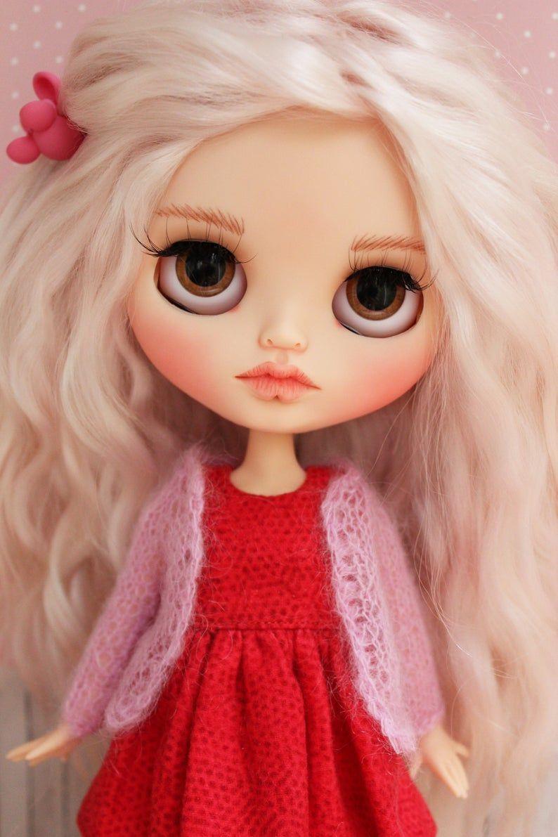OOAK Blythe doll custom #dollcare