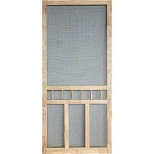 36 In X 80 Wood Clic Screen Door Wcla36 At The Home Depot Mobile