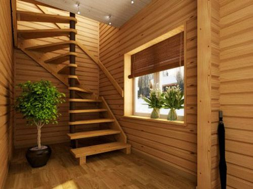 Modern Interior Design with Spiral Stairs, Contemporary Spiral ...