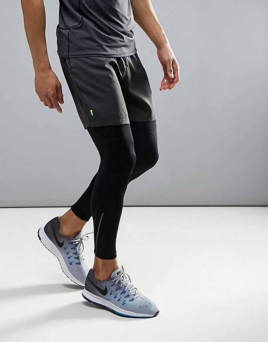 f9cb9dbd08af2d New Look SPORT running shorts in dark gray | T-Shirt | Running ...