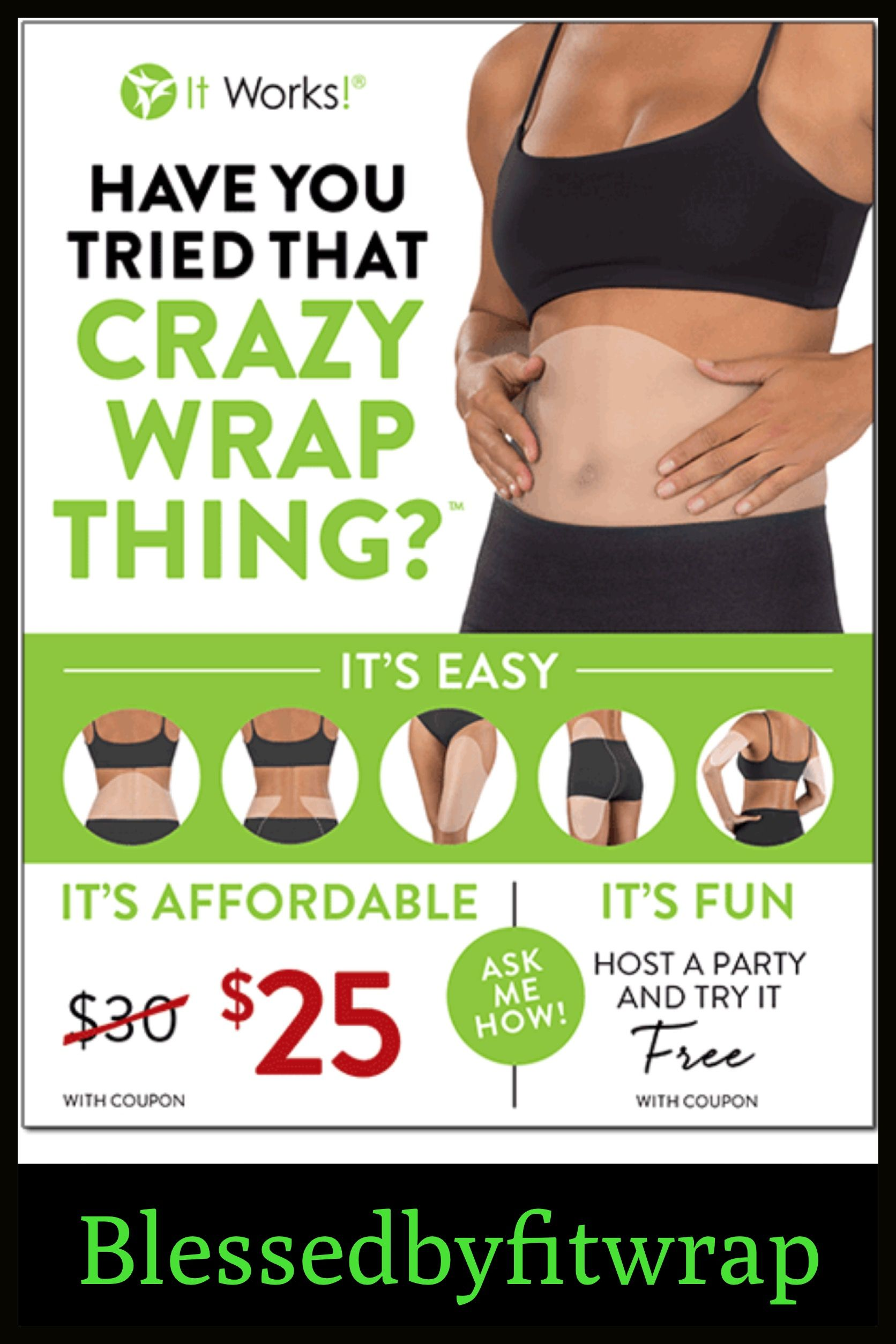 Pin by Erica Cathey on Blessed by fit wraps  Pinterest  Crazy wrap