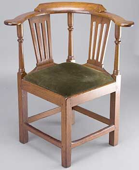 Would Love To Have One Of These Antique Corner Chairs Arte