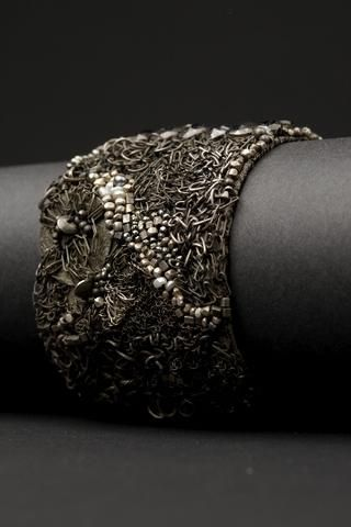 Pearl River Couture Cuff