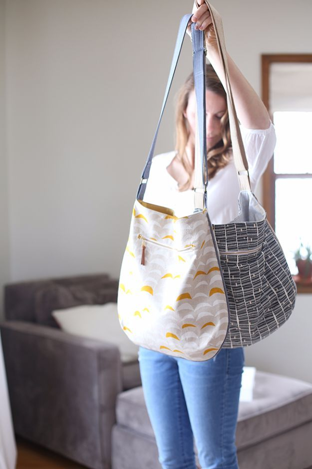 35 DIY Bags You Can Carry With Pride   Sewing, blocking, clothes or ...