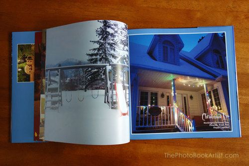 My 2012 Christmas photo book.