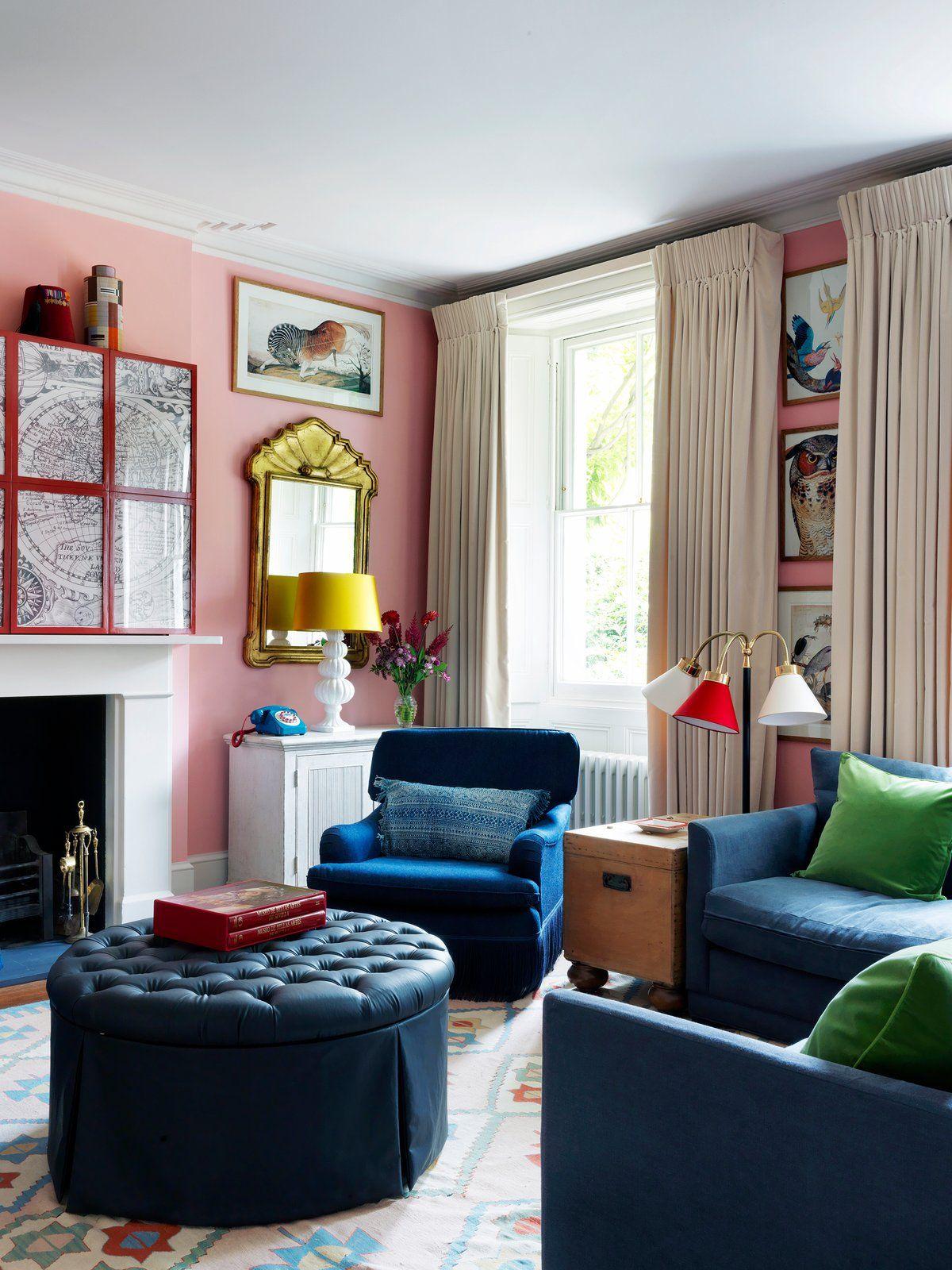 A West London House By Beata Heuman Ltd
