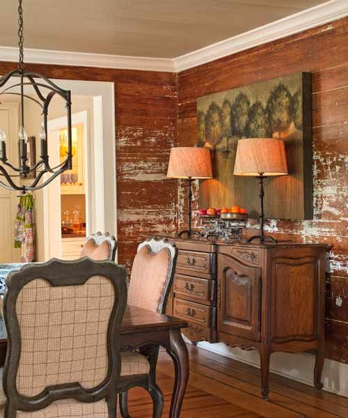 How to distress wood wall paneling for vintage charm. | Photo: Deborah Whitlaw Llewellyn | thisoldhouse.com