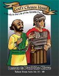 Gratis kleurboek en gekleurd e-book / The Apostle Paul