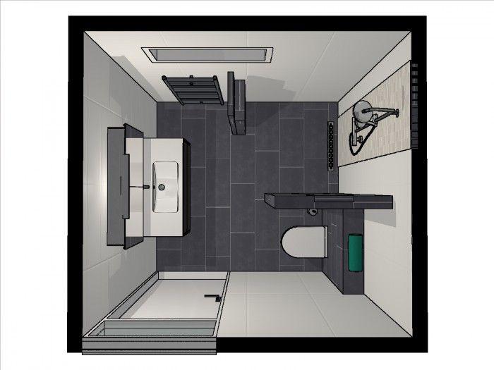 Inloopdouche Met Hoek : Voorbeeld inloopdouche met open hoek. badkamer pinterest