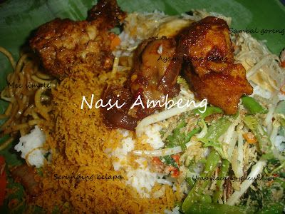 Mylittledapur2 Nasi Ambeng Edisi Makan2 Sebelum Berpuasa