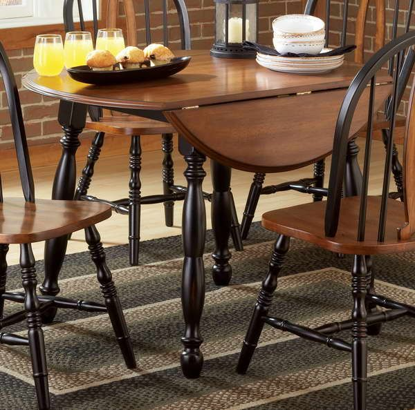 Collapsible Dining Table With Brick Walls | Dining table ...