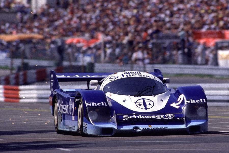 Hans-Joachim Stuck - Porsche 956 - Brun Motorsport - 200 Meilen von Nürnberg 1985 - Norisring Trophäe - Non championship race