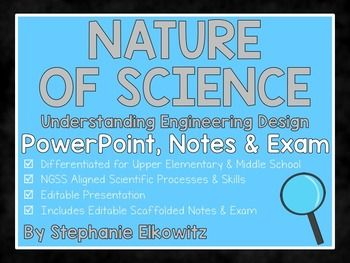 Engineering Design Process PowerPoint, Notes & Exam | | 5th