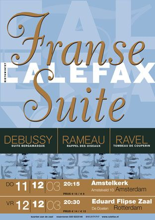 Calefax Franse Suite