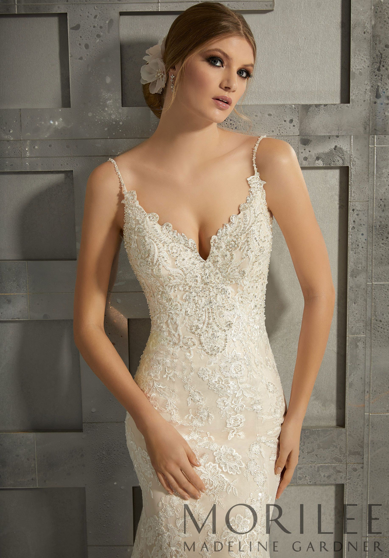 African american designer wedding dresses  Morilee  Madeline Gardner Merlada Bridal Gown Diamanté Beaded