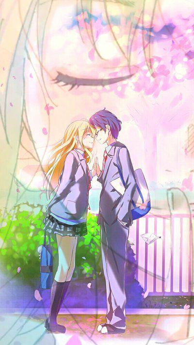 Resultado De Imagem Para Shigatsu Wa Kimi No Uso Wallpaper You Lied Animes Manga