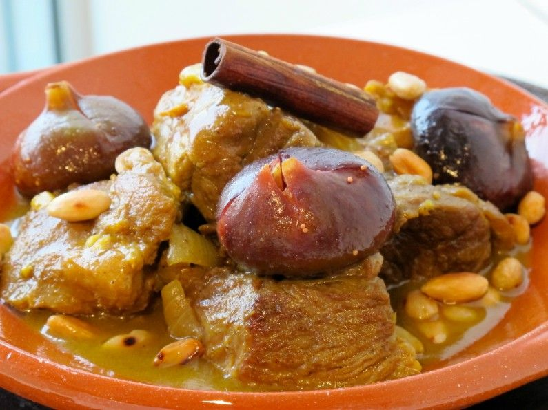 cucina marocchina tajine di carne e fichi