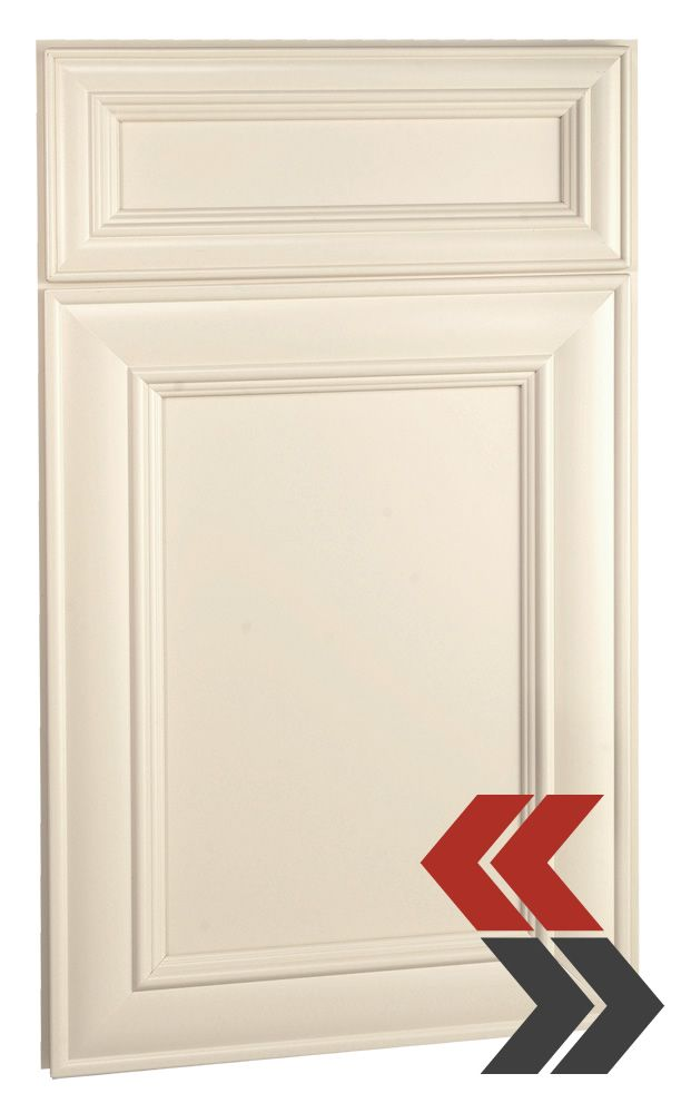 Deerfield S Hawthorne Maple Antique White Cabinet Door Style Online Kitchen Cabinets Cabinet Door Styles Antique White Cabinets