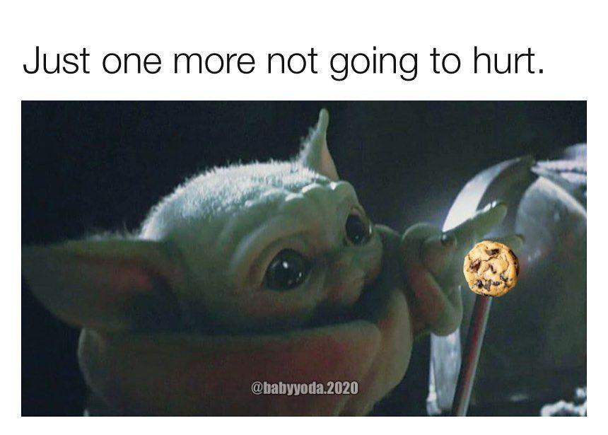 Baby Yoda One On Instagram I Got Sick From Eating One Too Many Please Follow Babyyoda 2020 Babyyoda Babyyodameme Babyy Yoda Meme Yoda Star Wars Memes