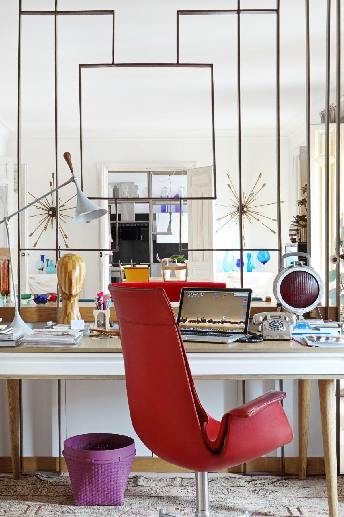 La casa de marta de la rica escritorio de roble for Sillas de madera para escritorio