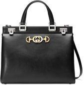 Photo of Gucci – Gucci Zumi smooth leather medium top handle bag – #BAG #Gucci #Handle #l…