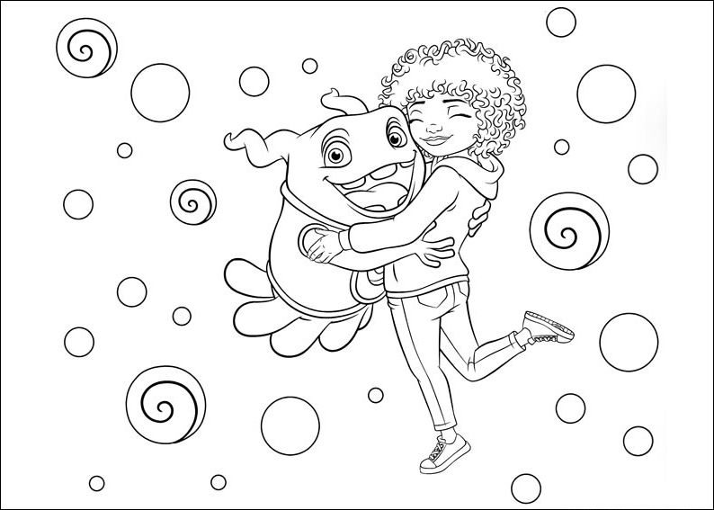 Home Coloring Pages Festa