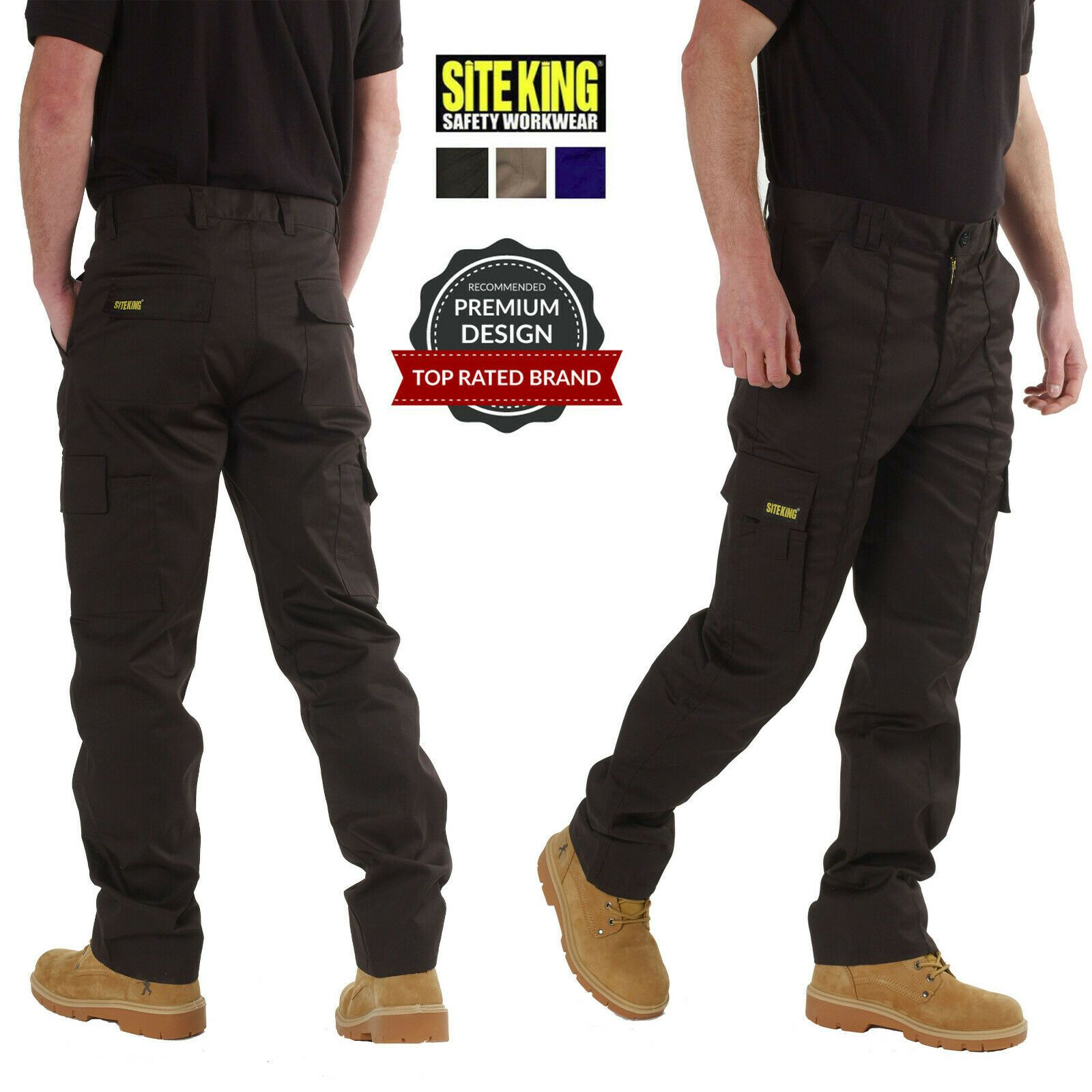 Work Trousers With Multi Pockets Original SITE KING in