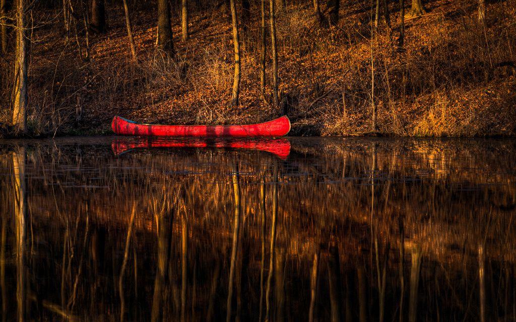 20140411-SFA9120 , Little Red Canoe