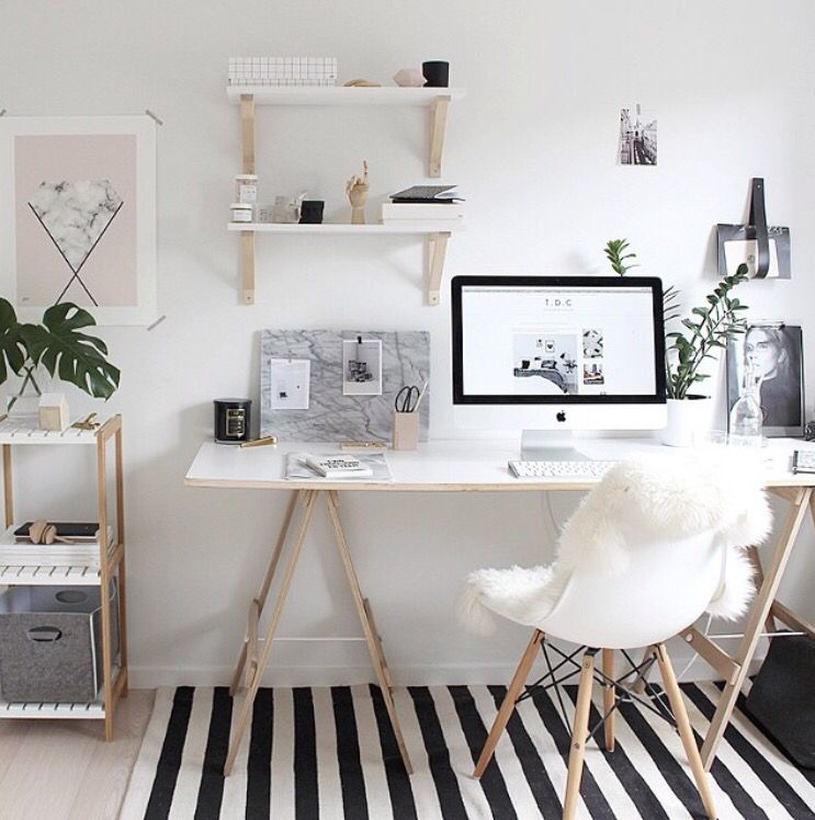7 Stunning Accent Chairs For Your Home Office. Workspace DesignSmall  WorkspaceOffice Space ...