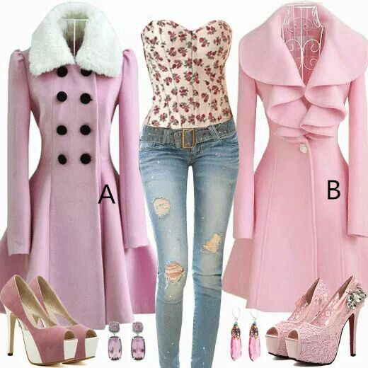 I absolutely LOVE pink and these coats are gorgeous!