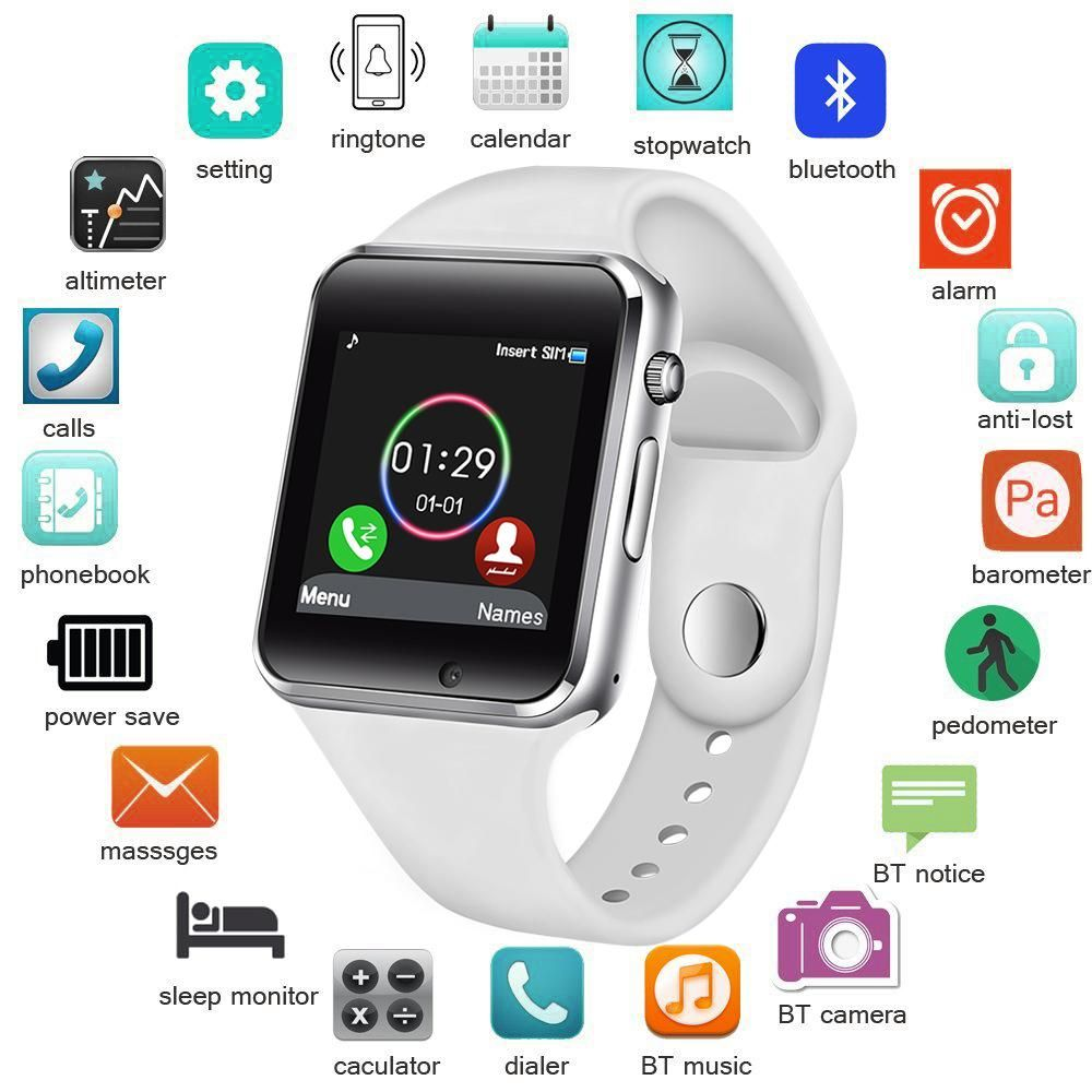 Smart Watch Women | Smart watch, Watches for men, Silver pocket watch