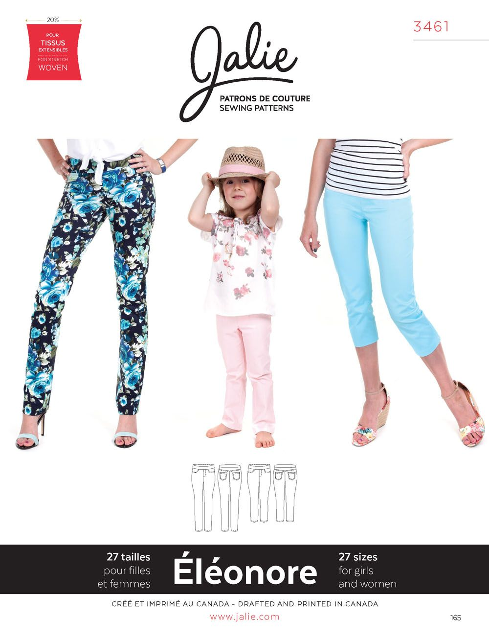 Jalie 3461 Eleonore | Sewing and Crafts | Pinterest | Costura ...