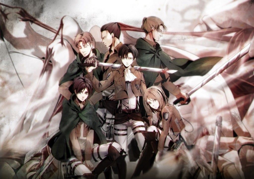 Attack On Titan All Characters Anime Wallpaper Attack On Titan Attack On Titan Anime Titans