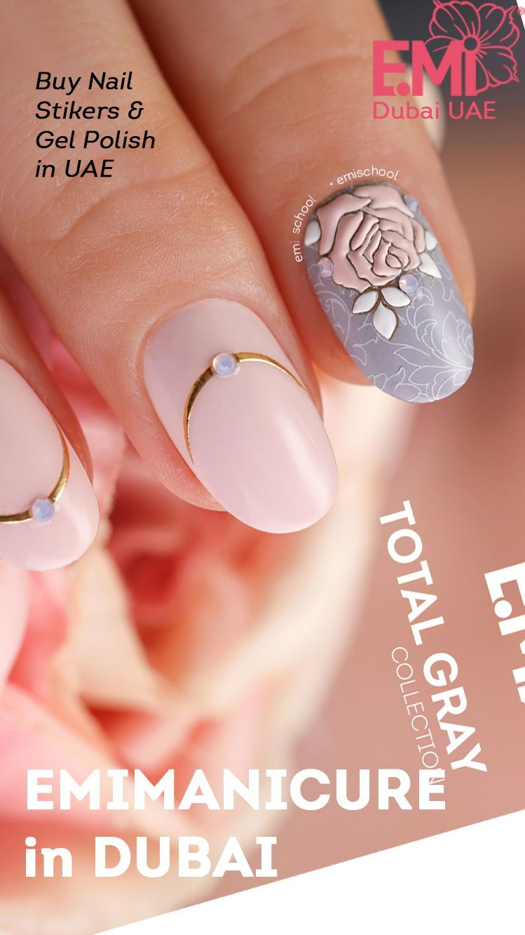 Diy flower nail art ideas for beautiful manicure easy nail art