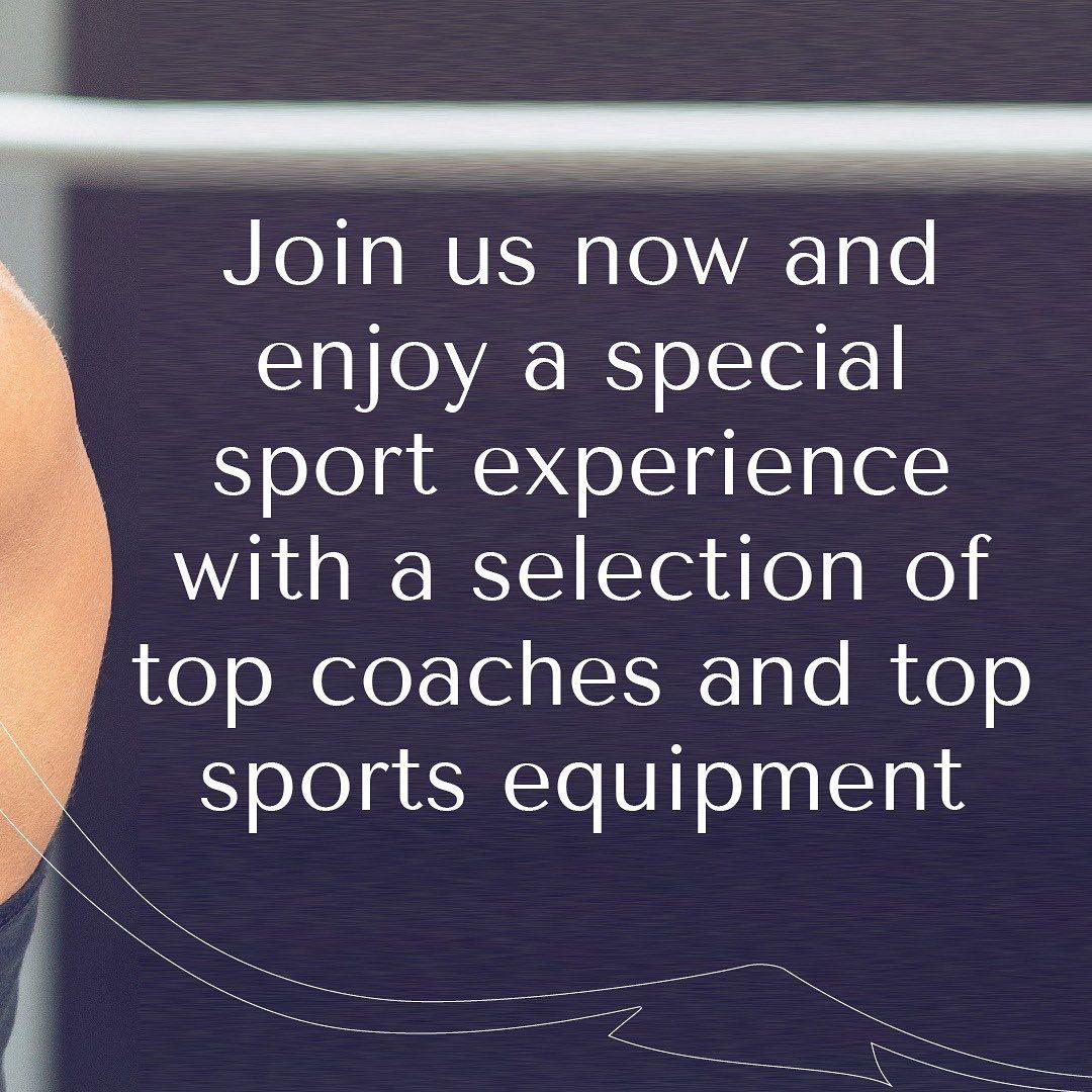 Sports is a special experience with our coaches. ممارسة الرياضة تجربة رياضية متميزه مع مدربينا انضم...