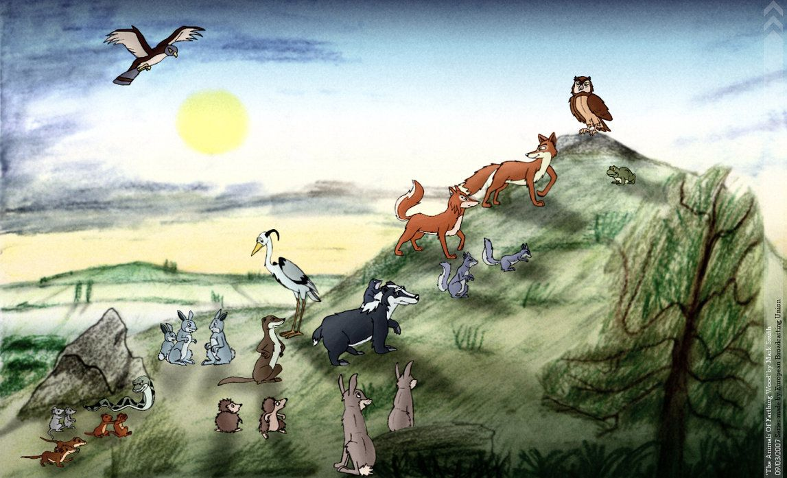 The Animals Of Farthing Wood • Movies & TV