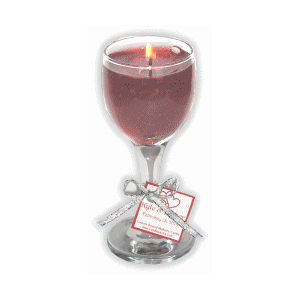 New Mini Gel Wine Candles Wine Candles Candles