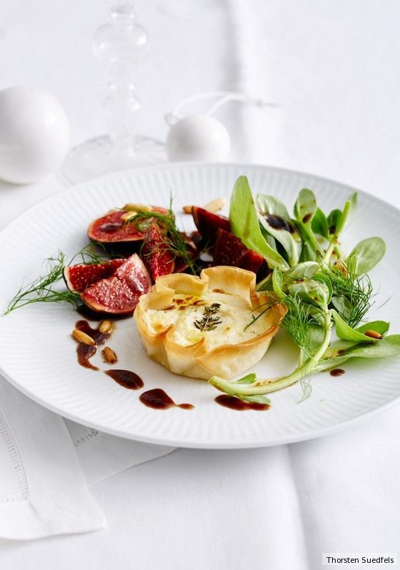 Photo of Goat cheese tartlets with fig recipe