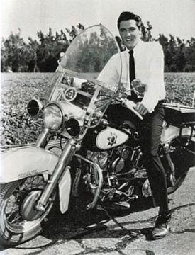 Harley Davidson Motorbike Owned By Elvis Presley My