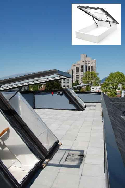Roof Terrace Design Glass Extension