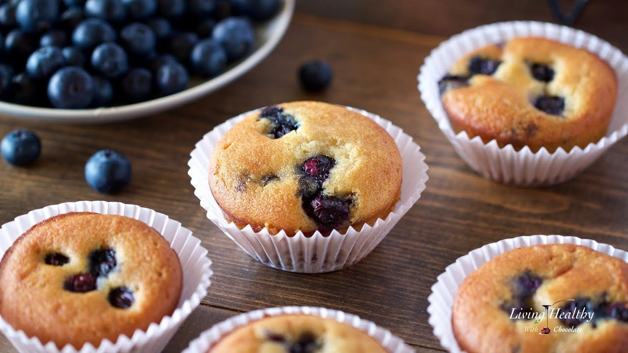 Blueberry Muffin Recipe Paleo Gluten Free Low Carb Youtube
