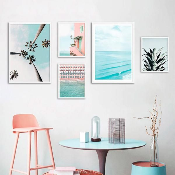 Peaceful Ocean Canvas Posters.  Order Today and Get Free Worldwide Shipping. #poster #print #art #wallart #artprint