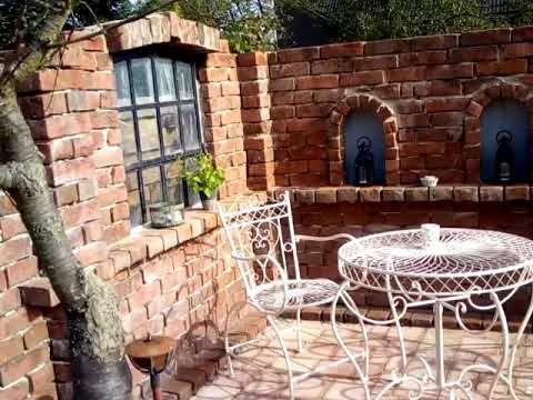 Ruine Garten selber bauen